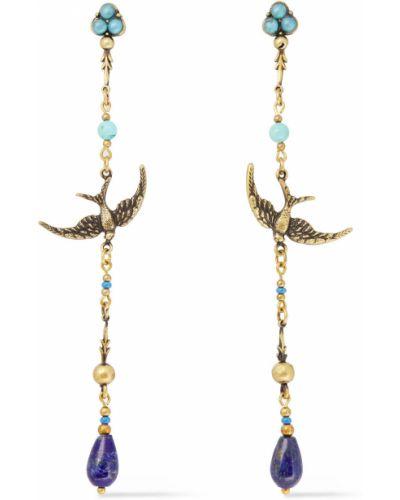 Серьги-гвоздики золотые с бабочкой Zimmermann
