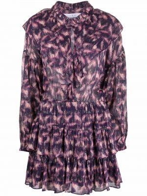 Платье макси длинное - фиолетовое Iro