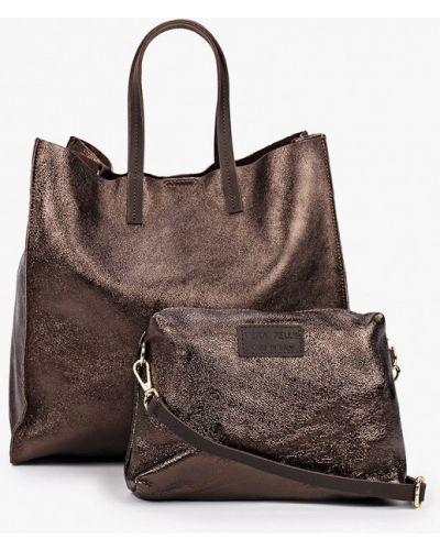Коричневая зимняя сумка Lamania