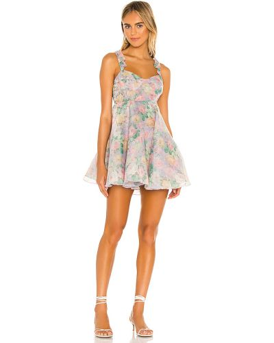 Fioletowa sukienka Selkie
