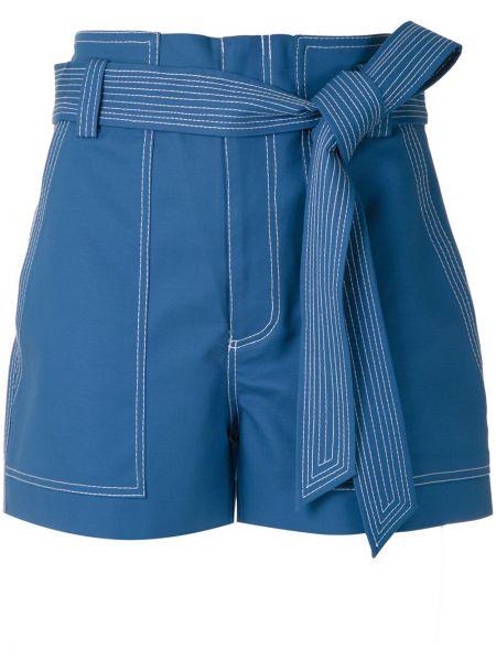 Однобортные шорты с карманами Martha Medeiros