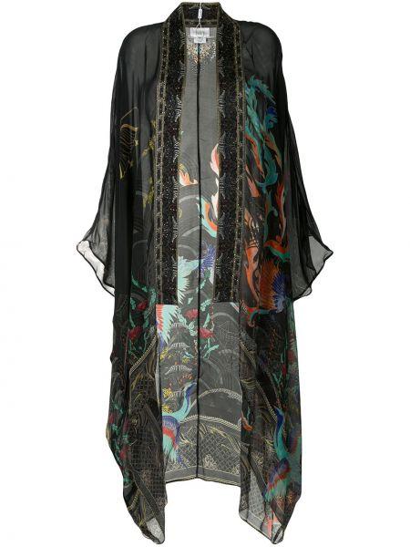 Kimono jedwab z długimi rękawami Camilla