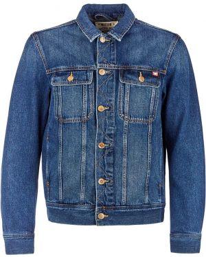 Джинсовая куртка синяя Mustang
