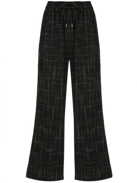Черные свободные брюки с карманами свободного кроя с высокой посадкой G.v.g.v.