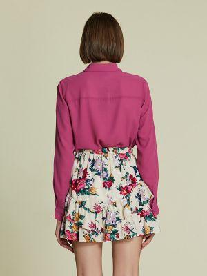 Блузка с длинными рукавами - малиновая Piazza Italia