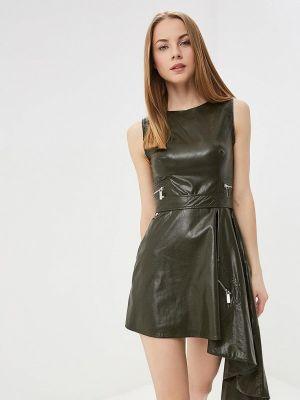 Платье зеленый хаки Tutto Bene