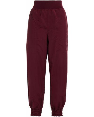 Бордовые брюки с карманами Adidas By Stella Mccartney