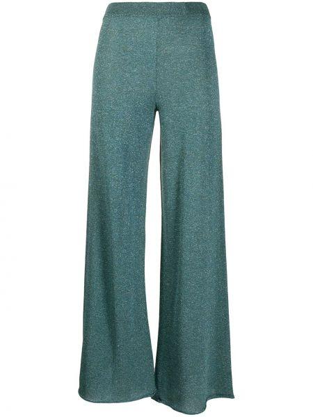 Свободные брюки стрейч расклешенные Roberto Collina