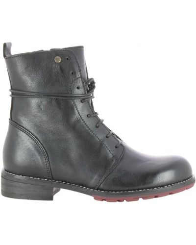 Czarne ankle boots Wolky