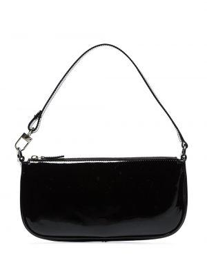 Skórzana torebka czarna długo By Far