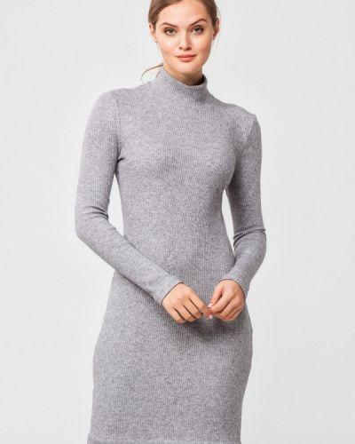 Платье осеннее серое Nai Lu-na By Anastasia Ivanova