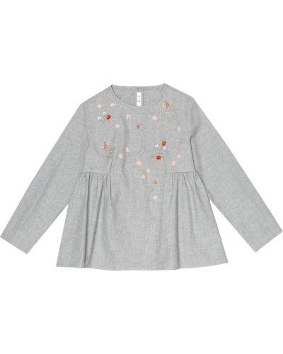 Bawełna bawełna top z haftem Il Gufo