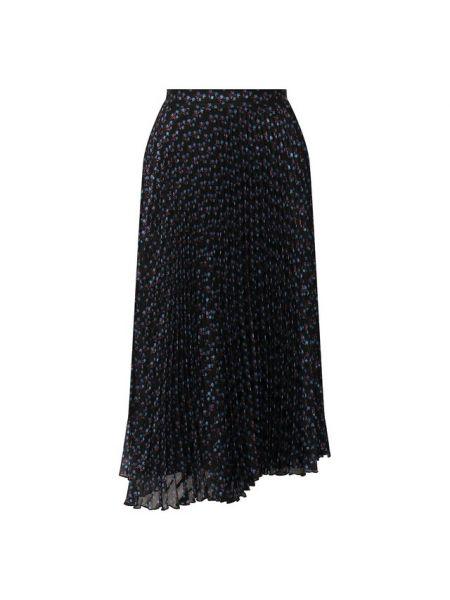 Повседневная тонкая асимметричная плиссированная юбка Paul&joe