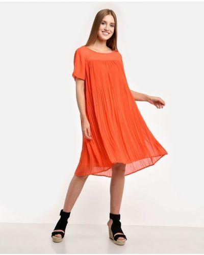 Оранжевое платье Numph
