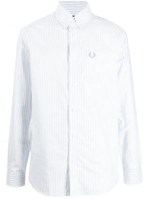 Рубашка с длинным рукавом - белая Fred Perry