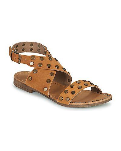 Brązowe sandały Ikks