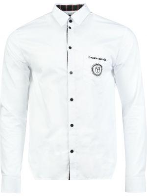 Белая рубашка хлопковая Frankie Morello