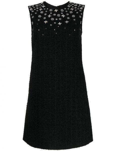 Приталенное платье мини - черное Giambattista Valli