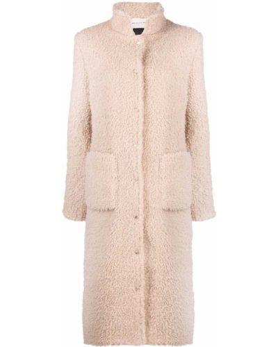 Бежевое пальто с высоким воротником 1017 Alyx 9sm