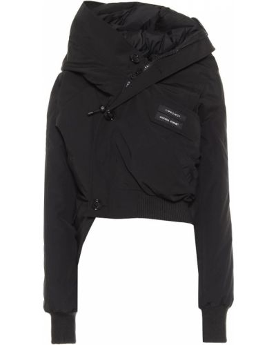 Пуховая ватная черная куртка Y/project