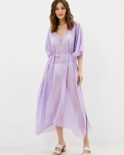 Пляжное фиолетовое платье Donatello Viorano