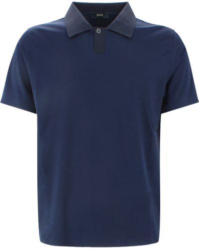 T-shirt - niebieska Herno