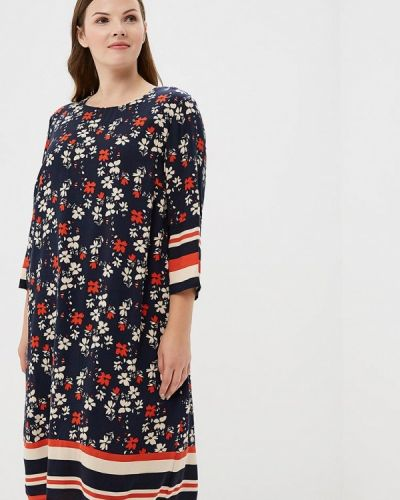 Платье с длинными рукавами осеннее Ulla Popken