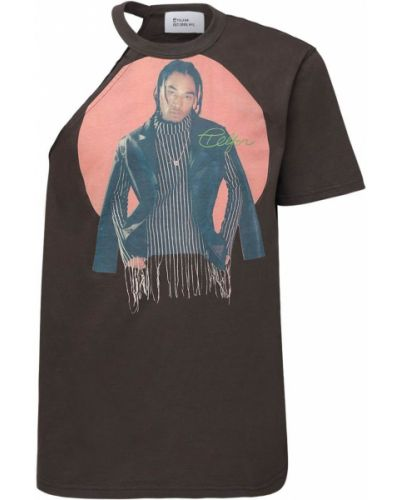 Koszula krótkie z krótkim rękawem z nadrukiem Telfar