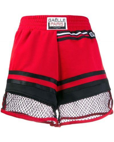 Трикотажные спортивные шорты - красные Gaelle Bonheur