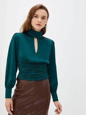 Зеленая блузка с длинными рукавами Zibi London