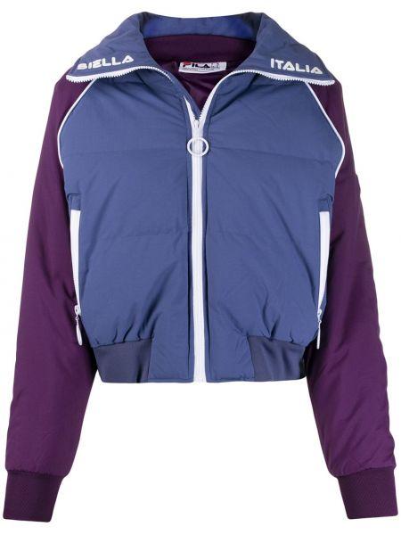 Куртка укороченная с вышивкой Fila