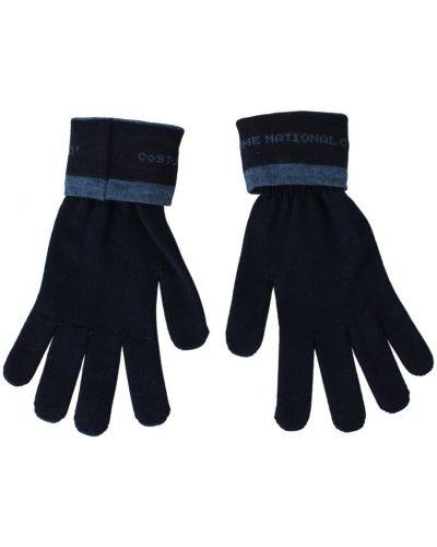 Czarne rękawiczki Costume National