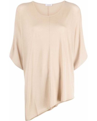 Блузка с короткими рукавами с вырезом из вискозы P.a.r.o.s.h.