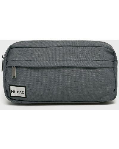 Текстильная поясная сумка - серая Mi-pac