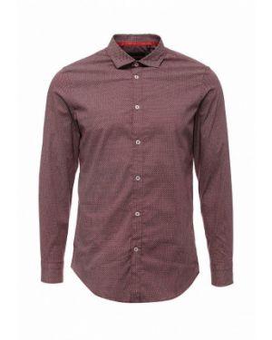 Красная рубашка с длинным рукавом Warren Webber