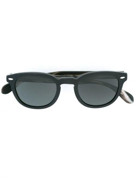 Солнцезащитные очки - черные Oliver Peoples