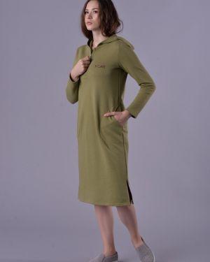 Летнее платье из футера Mix-mode