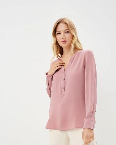 Розовая блузка с длинным рукавом Jacqueline De Yong