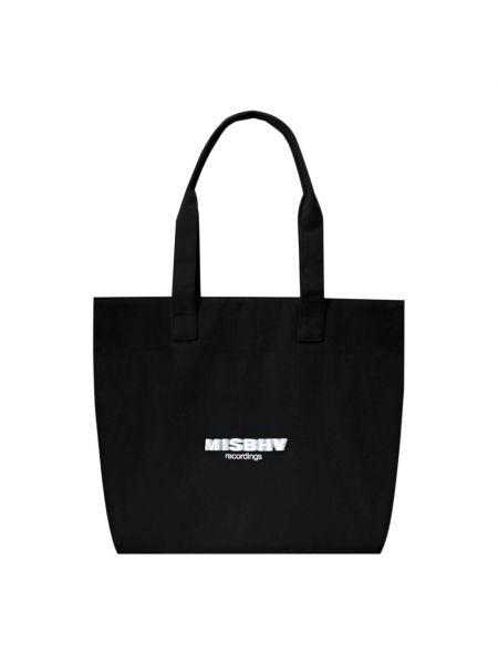 Czarna torebka bawełniana Misbhv