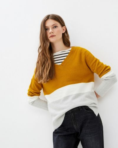 Желтый пуловер Q/s Designed By