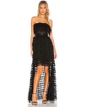 Вечернее платье сетчатое на молнии Bcbgmaxazria