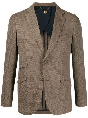 Шерстяной пиджак на пуговицах с манжетами с карманами Maurizio Miri
