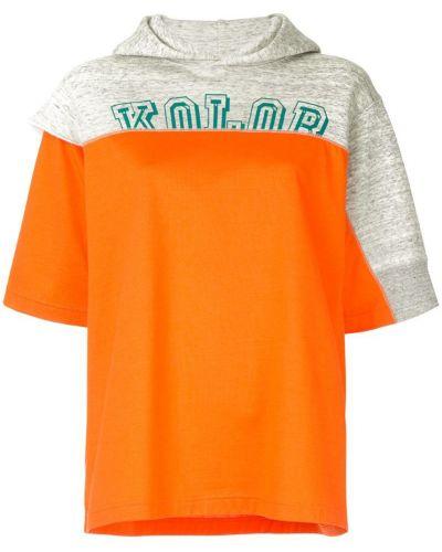 Футболка свободная с капюшоном Kolor