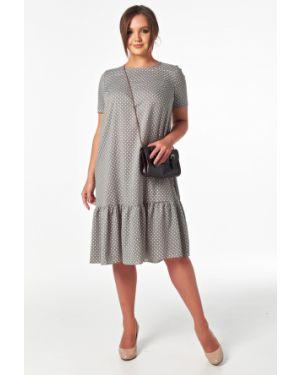 Летнее платье в горошек с поясом Victoria Filippova