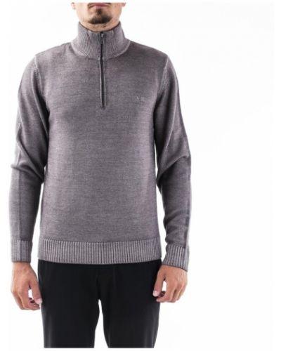 Sweter z kołnierzem z zamkiem błyskawicznym Sun68