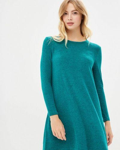 Платье осеннее зеленый Modis