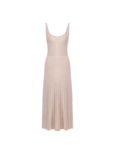 Платье макси шелковое кашемировое Gabriela Hearst