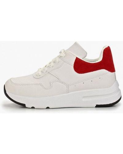 Кожаные кроссовки - белые Dino Albat