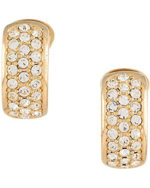Кольцо металлическое - желтое Christian Dior Pre-owned