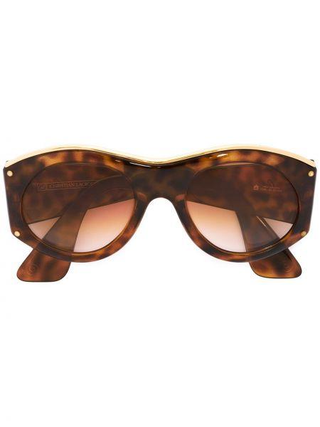 Муслиновые солнцезащитные очки Christian Lacroix Pre-owned